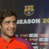 سيرجي روبيرتو يخطف قلوب الجميع في برشلونة