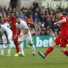 ليفربول يواصل إنتصاراته ويكسب سوانزي سيتي بهدفين لهدف