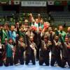 اخضر الكاراتيه واصل تحقيقه الانجازات في مشاركته العالمية  ويحصدد 8 ميداليات منوعة