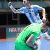 الأرجنتين تحقق بطولة كأس العالم للصالات أمام روسيا