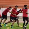بالصور : الجابر يكثف التدريبات اللياقية للاعبي الشباب