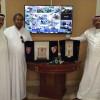 أولمبي الوحدة يكرم الداعم عدنان عباس