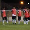 منتخب الشباب يتدرب على مدينة حمد استعدادا للعراق