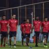 بالصور : الشباب يؤدي مرانه الرئيسي للهلال بمتابعة ودعم رئيس النادي