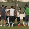 بالصور : الأخضر الشاب يؤدي تدريبات إسترجاعية ضمن إعداده لنصف النهائي