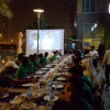 صور لاعبو منتخبنا للشباب يتناول وجبة العشاء في احد مطاعم المنامة في البحرين