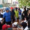 جمعية الصداقه البحرينيه للمكفوفين تنظم مسيرة المجتمع للكفيف واجبنا جميعا