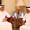 رئيس النادي الاهلي يقدم التعازي في وفاة الشيخ خليفة بن حمد آل ثاني