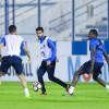 مران إعتيادي للاعبي الهلال بمشاركة الخماسي الدولي بعد الراحة