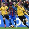 ملقا يفرض التعادل على برشلونة و يحرمه من سباق الصدارة