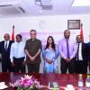 سلمان بن ابراهيم يزور جزر المالديف ويؤكد دعم إتحاد الكرة الجديد