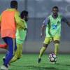بالصور : النصر يواصل تدريباته وسط اجواء ممطرة واتحاد القدم يشكر النادي