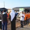 الزيدان يزور مخيم الوفاء بالجوف و يدرب الكشافين على إدارة الذات