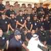 فريق السلام السعودي ينظم حفل اليوم العالمي للتطوع بأشراف إدارة الدفاع المدني