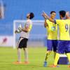 صور من لقاء أولمبي النصر و الهلال – دوري كأس الامير فيصل