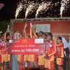 فريق الرياض يحقق كأس ماكدونالدز لمواهب كرة القدم