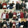 هدية رياضي تقدم لمدرب وأجانب الفيصلي
