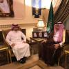 عبدالله بن مساعد يستقبل عزت وأعضاء إدارته واللجان جاهزة
