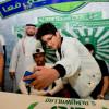 تغطية زيارة سعيد المولد لمتجر الأهلي ( عدسة خالد السفياني )