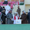 إعلامي العدالة يكرم العم عبدالعزيز الخليفة