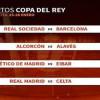 قرعة كأس ملك إسبانيا: مهمة صعبة لبرشلونة وريال مدريد