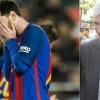 برشلونة يطيح بمديره والسبب ميسي