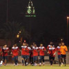 لاعبو الوحدة يتسلمون مكافآت الفوز على الرائد