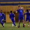 بالصور : تكتيك هجومي في تدريبات النصر للقاء الفيحاء والجبرين يتدرب على مدرجات الملعب