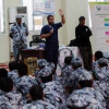 فريق السلام السعودي يقدم دورات لمنسوبي قوة الحج والعمرة بمكة