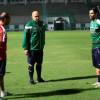 غروس يلتقي بمحترف الاهلي الجديد سعد الامير