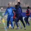 الفتح يؤدي تدريباته قبل مباراة الوطني