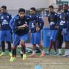 الاتفاق يدشن تدريباته لمواجهة الهلال في الدوري والدبل يكرم العمري