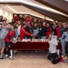 إدارة كرة القدم بنادي الشباب تحتفل بـ (الجابر)