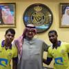 النصر يوقع عقوداً إحترافية مع النجعي والدوسري وقائد فريق الاولمبي