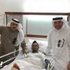 عواجي يغادر إلى الدوحة للكشف عن إصابته