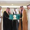 أسرة الماضي تكرم رئيس مجلس إدارة النادي الفيصلي الأستاذ فهد المدلج