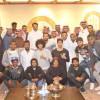 رئيس الوطني يعقد اجتماعاً مع الجهاز الفني والإداري واللاعبين في منزله