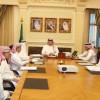 رئيس الهيئة العامة يلتقي بمجلس إدارة نادي الاتحاد
