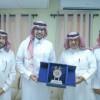 نادي الوشم يقدم عضوية الشرف لماجد الجميح