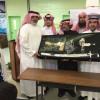 مدرسة بطحان الاولى تكريم الاستاذ أحمد الزهراني