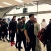بعثة منتخب العراق تصل الى جدة استعداداً للقاء الاخضر