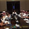 إنعقاد الإجتماع الفني للقاء المنتخب السعودي والعراق