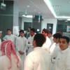 متوسطة الحديبية بالهفوف يزورون البريد السعودي