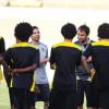 سييرا يحول تدريبات الاتحاد الى الصباحية لمتابعة الأخضر واللاعبون يتسلمون مكافأة الكأس