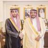 أمير القصيم يستقبل خالد السليم