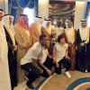 أمير منطقة مكة يستقبل فريق الاتحاد أبطال كأس ولي العهد
