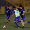 بالصور:النصر يواصل استعداداته على ملعب الرمز