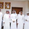 """عزت يستقبل وفد قنوات """"الكأس"""" برئاسة الاعلامي خالد جاسم"""