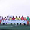 لاعبوا الفيحاء يحتفون بيوم اليتيم العربي