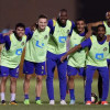 بالصور:النصر يواصل استعداداته للباطن والأمير فيصل يلتقي المدرب واللاعبين